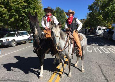Heading to the Cowboy Parade