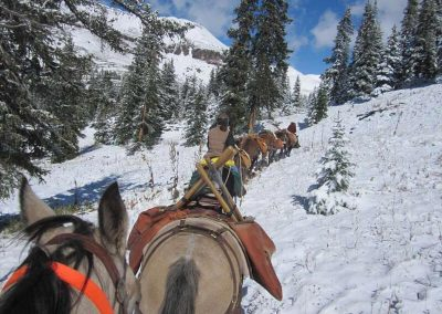 Pack String to support Southwest Conservation Corps work