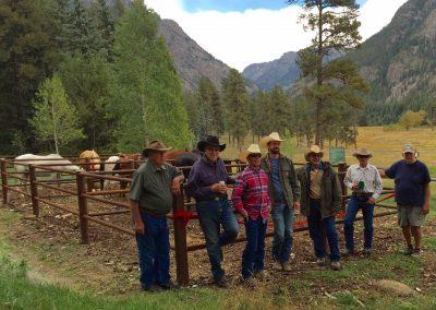 Pine River Trail Head Corral Project Celebration