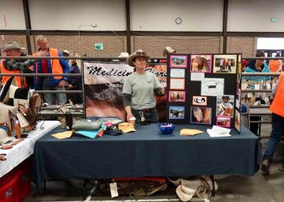 The Tack Sale offers vendors a spot to promote their services